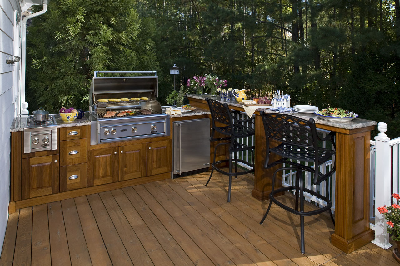 Outdoor Kitchens By Raleigh Deck Contractors